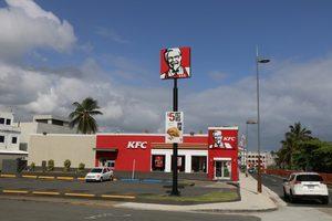 Outside KFC