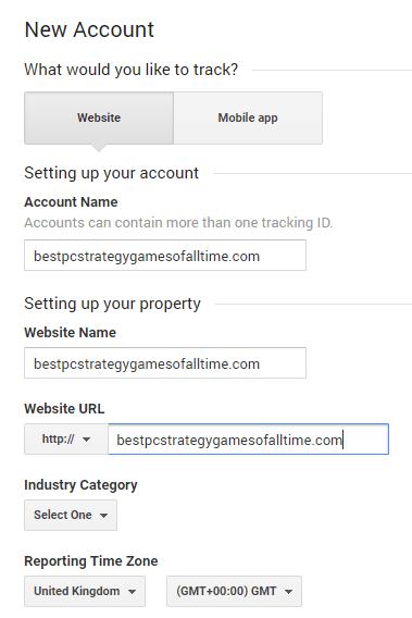 Add Website To Analytics