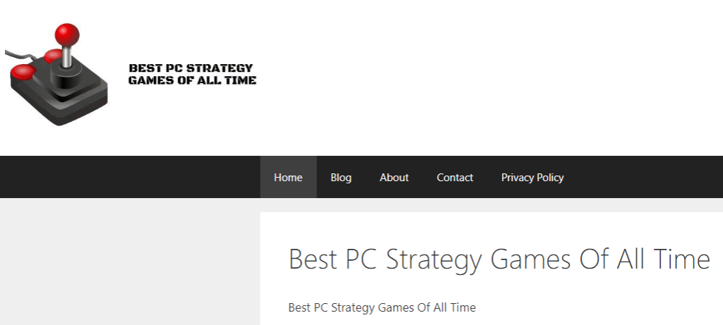 Best Pc Strategy Games Of All Time