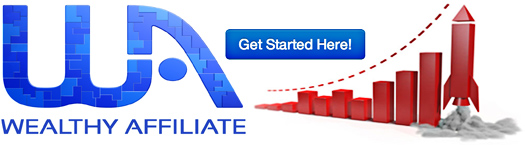 Wealthy Affiliate Review - get started banner
